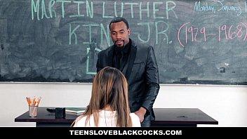 Teensloveblackc ocks   Big Black Dicking On Ml k Dicking On Mlk Day