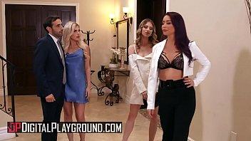 (Anya Olson, Monique Alexander) sharing cock in 3some - DigitalPlayground