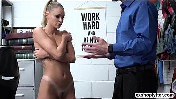 Emma kneels and sucks LP Guys bigcock