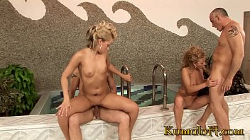 toy playing starts a massive orgy with nikita blue