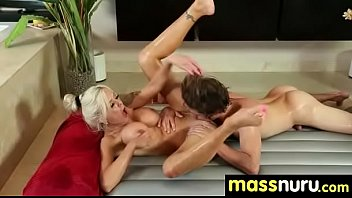 SEXY body gets a happy ending massage 4