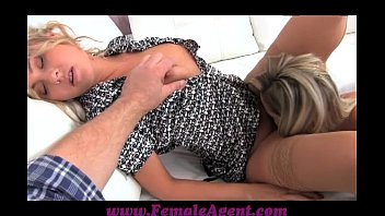 FemaleAgent Assistant camerman gets in on the action