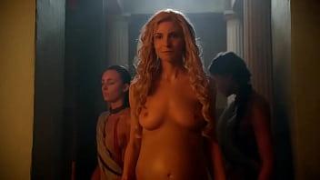 Lucy Lawless &amp_ Viva Bianca - Spartacus Vengeance - S02E06 latino