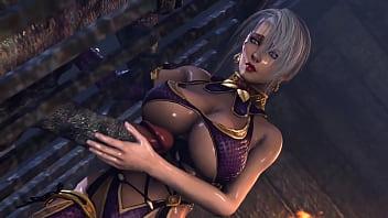 3D DEMON [OnagiArt] Ophelia - quick bonus VIP DEMO