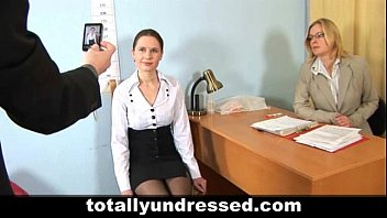 xxarxx Nude job interview for young secretary
