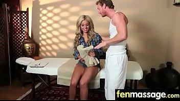Massage Girl Sucks the Tip for a Tip 14