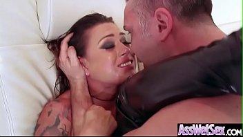 Big Ass Girl (Eva Angelina) Get Oiled And Enjoy Anal Hardcore Sex video-13