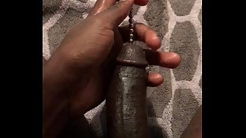 12 inch sound in my black cock