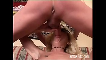 Masked woman fucked well on the sofa