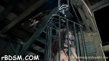 Babe is tortured with shocking sex-aids and jugs weight balls