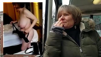 Marierocks public vs private naked gilf...