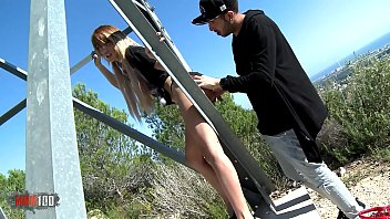 Skinny French Cougar Assfucked By Younger Guy In The Outdoors