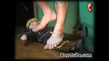 Sweet boy trampling...