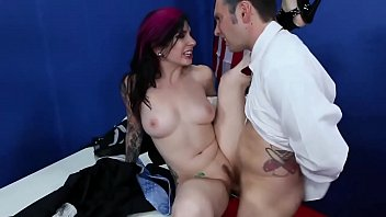 Angel Joanna fucked hard in her gang bang at the office