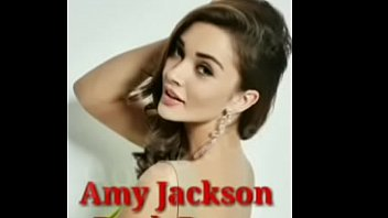 Actress Amy Jackson boobs press