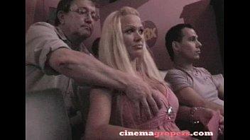 Groped in cinema