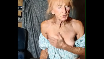 Granny Rides Young Neighbor Till He Fills Her Up