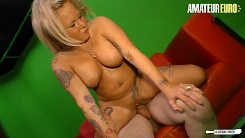 AMATEUR EURO - Big Tits German Babe Valentina Wants To Ride Her Photograph