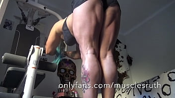 Hot ass muscle hamstring amp sexy feet amp...