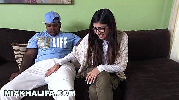 thumb Mia Khalifa She S Never Tried Big Black Dick Before So She Asks Rico Strong