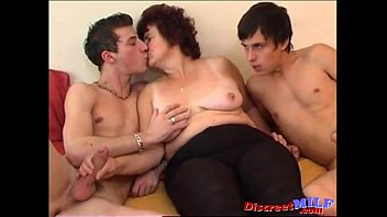 thumb Two Horny Russian Guys Fucking One Crazy Milf