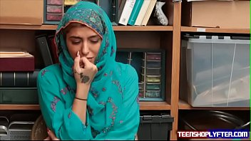 Hot Muslim Teen  Shoplyfter Caught & Haras ght & Harassed