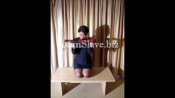 Air Stewardess Sex Slave gets slave training from her Master (Part 1)