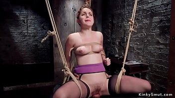Slave in pile driver is tormented