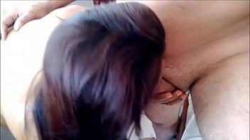 Cornudo feliz viendo a esposa gozando 1