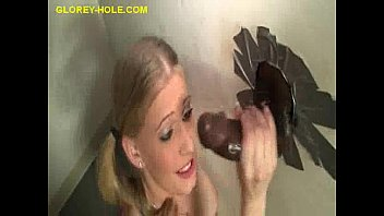 Swallowing Cum at a Glory Hole