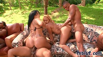 Hot latin pussy orgy...