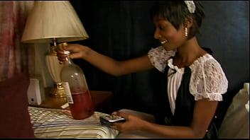 thumb Ebony Maid Goofs Off On The Job Then Has To Fuc