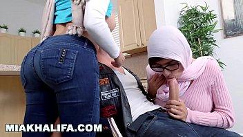 Mia Khalifa - Milf Stepmom Julianna Vega Tries To Pwn Mia's Big Dick Infidel Boyfriend