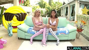 ALL ANAL Anal gaping fun with Harmony Wonder and Lexi Lore thumbnail