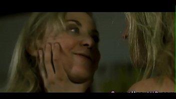 Whipping lesbian nun babe