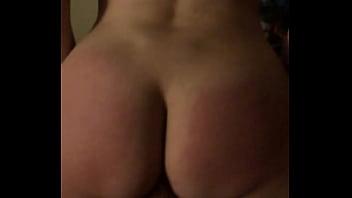 Brunette rides cock again