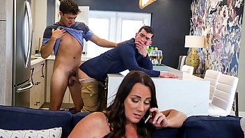 Horny boy fucking his step father real hard - gay porn