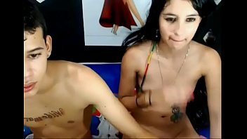 Webcam brother and sister twins...