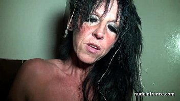 Big Boobed Amat eur French Mom Hard Banged In  Hard Banged In A Sex Shop Basement