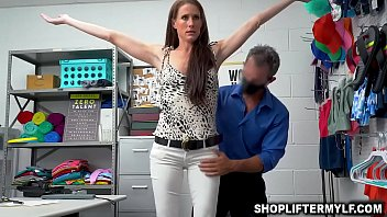 Horny Security  Guard Rusty Nails Caught On Cc ls Caught On Cctv Fucking With Hot Milf Thief Named Sofia Marie After She Shopli