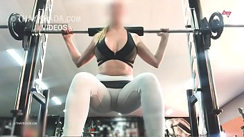 Streaming Video no panties at the gym, hotwife Cameltoe - XLXX.video