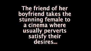 Nikita Valentin Groped In The Cinema !