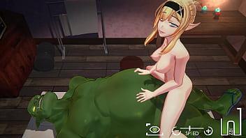 Orc Massage [3D Hentai, 4K, 60FPS, Uncensored]