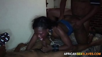 Streaming Video Ebony Teen Tied Down and Spit Roasted by 2 BBC's - XLXX.video