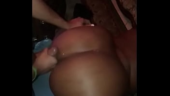 fat black booty ebony cumshot
