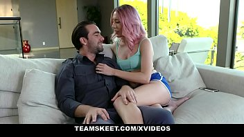 Stepsiblings - Kinky Stepsisters Take Turns Giving Blowjob And Fucking