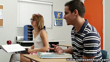 thumb Innocenthigh Cute Teen Rides Cock In The Classroom