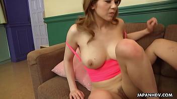 Japanese honey, Maki Koizumi fucks a friend, uncensored 5 min