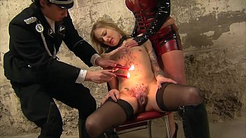 xxarxx Dominating a Bondage blonde skinny German Teen