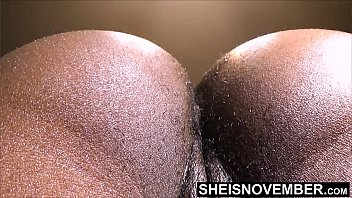 Msnovember Let Her Boss Lick &amp_ Smell Her Hairy Black Asshole For A Promotion at Business Office, Knees On A Chair Poking Her HairyAss Out And Harcore RidingCock For an Admin Position On Sheisnovember